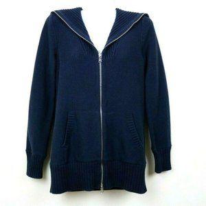 Lauren Ralph Lauren Womens Sweater Full Zip Pocket